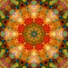 Sacred mandala. Fractal art is very soothing on the body, mind, Spirit.