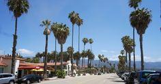 Praia de Santa Bárbara #viagem #california