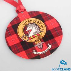 Cunningham Clan Crest Christmas Ornament