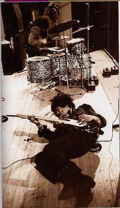 Hendrix and Mitch Mitchell