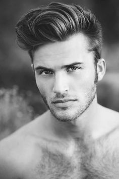 Hairstyle for man - pompadour haircut