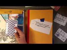 Video 2 of 3 All about the envelope area, adding pockets for full sized sheets, delicate papers, and small pockets for little bits.