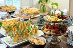 rustic baby shower   Roux's Catering is a full service, on and off-premise catering company ...