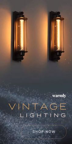 Vintage Lighting - 50 off (or more) while supplies last! Vintage Lighting - 50 off (or more) while supplies last! Art Deco Lighting, Shop Lighting, Vintage Lighting, Barn Lighting, Lighting Ideas, Club Lighting, Home Lighting Design, Vintage Wall Lights, Copper Lighting