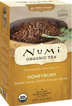 Numi Organic Tea Honeybush, Herbal Teasan, 18-Count Tea Bags (Pack of 3) Numi,http://www.amazon.com/dp/B003ULLA64/ref=cm_sw_r_pi_dp_.z1Etb1KHH610CR6