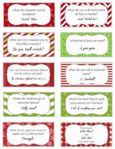 Elf on the Shelf Printable Joke Cards *Updated*