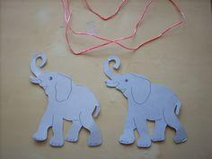 Attività Creative Per Bambini: Un elefante si dondolava sopra il filo di una ragnetela...il gioco!