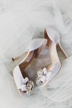 Oscar de la Renta- perfect wedding shoes