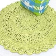 Free crochet patterns and ideas! Crochet patterns for rugs, blankets, baskets and bags. Doily Patterns, Crochet Patterns, Crochet Mandela, Painting Carpet, Afghan Rugs, Beige Carpet, Red Carpet, Crochet Home, Crochet Doilies