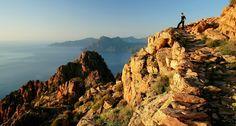 Le sentier de muletier de PIANA, Corse