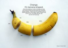 banana fair trade. could also be used to demonstrate the percentage of profit made from farmer to supermarket