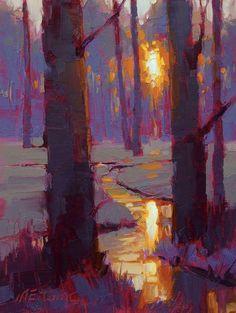 Ideas For Landscape Paintings Fine Art Abstract Trees Abstract Landscape, Landscape Paintings, Abstract Art, Landscapes, Abstract Trees, Guache, Pastel Art, Tree Art, Art Techniques