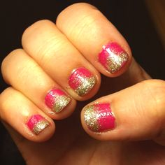 Effie Trinket nails :)