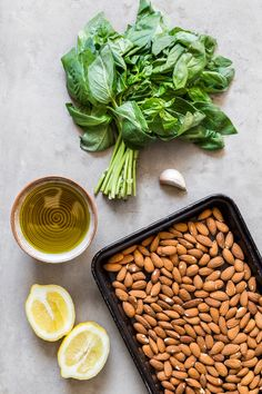 Almond Pesto Step-by-Step - DeliciouslyElla