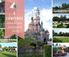 5 campings cerca de Disneyland, París y el parque Asterix | Con los niños en la mochila