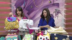 mochila infantil de tecido aprenda como fazer