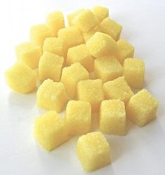 Lemon Flavored Sugar Cubes- for Tea Parties, Champagne Toasts, Lemonade Parties, DIY Favors, Coffee, Tea, Berries, Cider by Trio3, $17.50 USD