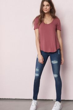 Pin by hflame on college outfits outfit ideen, outfit, reits - School outfits for college jeans teen fashion - School Outfits Neue Outfits, Style Outfits, Fall Outfits, Summer Outfits, Fashion Outfits, Fashion Ideas, Work Outfits, Outfits For Teens For School, Sunday Outfits