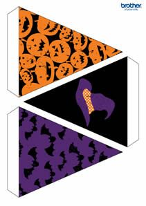 free halloween printables from the brother creative center brothercreativecenter halloweendiy sponsored pinterest creative the ojays and articles - Print Out Halloween Decorations