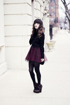 Love the dark colors