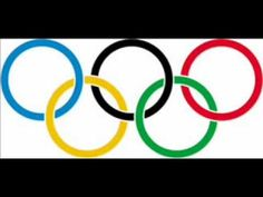 "OLYMPIC LYRICS ""Hymn"" (Official and Olympic anthem of Olympic Games and the International Olympic Committee) [Original . Course De Chars, Olympic Games For Kids, Olympic Logo, Olympic Sports List, Ice Hockey Players, Olympic Committee, Famous Logos, How To Make Logo, Summer Olympics"