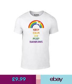 74141cf9 T-Shirts Keep Calm Poop Rainbows T-Shirt - Funny T Shirt Unicorn Fashion  Rainbow Animal #ebay #Fashion