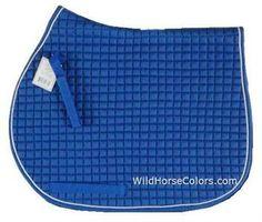 Royal Blue Dressage or All Purpose Saddle Pad