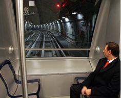 Metro C. Un km di rotaie già da sostituire?