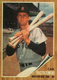 carl yastrzemski baseball card | carl yastrzemski 1962 shirriff plastic coins 27 carl yastrzemski 1962 ...