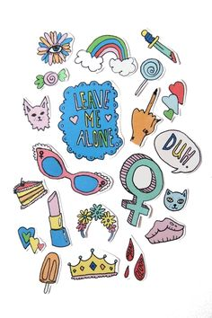 feminist stickers from thepulpgirls Stickers, Girls Accessories, Scribble, Graphic Illustration, Art Drawings, Art Sketches, Print Patterns, Feminism, Bullet Journal