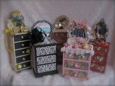 Miniature Matchbox furniture - for inspiration