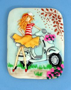 Trial Summer Cookie!  It´s all about fun! - Cake by The Cookie Lab - Bolachas Decoradas Artesanais