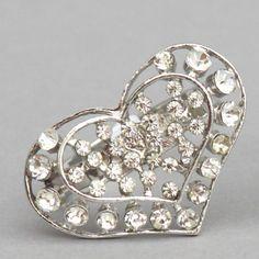 Buy CY14-HAERT DIAMANTE NAPKIN RING | JIG Online Shop - Wholesale