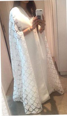 Caftan Abaya Fashion, Muslim Fashion, India Fashion, Modest Fashion, Casual Hijab Outfit, Salwar Designs, Stylish Girl Images, Caftans, One Piece Dress