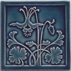 Arts and Crafts style tile