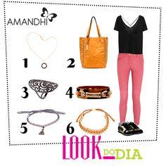 Look do Dia - Conforto Chic! | Amandhí | www.amandhi.com