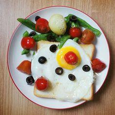 Breakfast plating