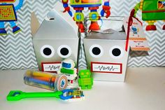 robot party supplies - Google Search