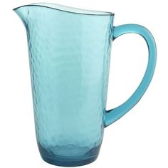 Summer Quench Turquoise Pitcher Pier 1 $19.95