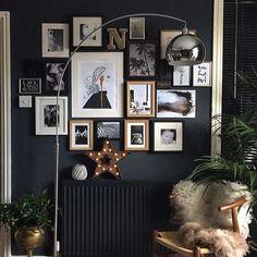 Black!! ❤️ #black #decor #decoração #preto #organizesemfrescuras #ouse