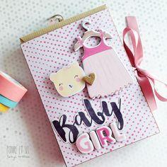 Arts&Photoscrap: Mini álbum Sleep BABY GIRL