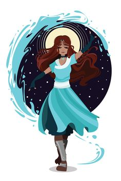 The Waterbender by monarch-star.deviantart.com on @DeviantArt