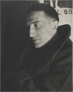 Man Ray, Portrait of Marcel Duchamp, gelatin silver print, Yale University Art Gallery. Marcel Duchamp, Man Ray, Conceptual Art, Surreal Art, Pablo Picasso, Paris France, Who Is The Father, Gelatin Silver Print, Expositions