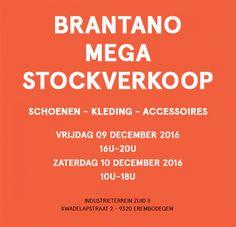Mega stockverkoop Brantano -- Erembodegem -- 09/12-10/12