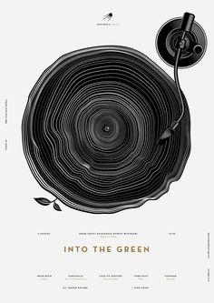 Into The Green poster by Anton Burmistrov