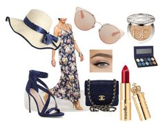 """""""Summer country"""" by anne-lise-knoph on Polyvore featuring Chanel, Imagine by Vince Camuto, Christian Dior, Luxie, country and beautifulhalo"""