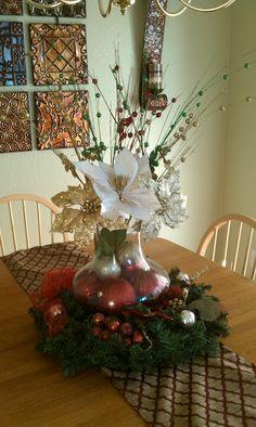 Christmas center piece I made.