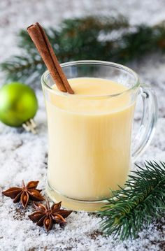 You always know December is around the corner when Eggnog starts appearing in the dairy cooler at the grocery store. Here we have MRC EGGNOG! All the creamy, thick, delicious flavor you crave is in this holiday drink, without the weight gain. Eggnog Drinks, Cocktails, Vodka Cocktail, Cooking Recipes, Healthy Recipes, Drink Recipes, Healthy Drinks, Eggnog Recipe, Holiday Drinks