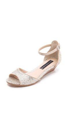 glittery snakeskin sandals #sparkles #shoes