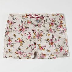 HIPPIE LAUNDRY Ditsy Floral Girls Shorts